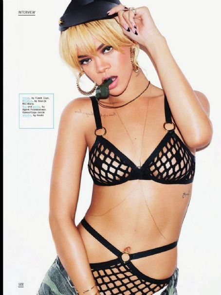 Rihanna Esquire UK July 2012