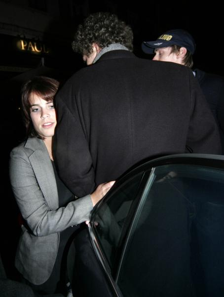 Princess Eugenie And Her Male Companion Leaving Boujis Nightclub London, 2009-01-07