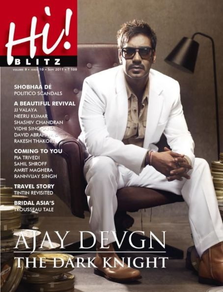 Ajay Devgan - Hi! BLITZ Magazine Cover [India] (September 2011)