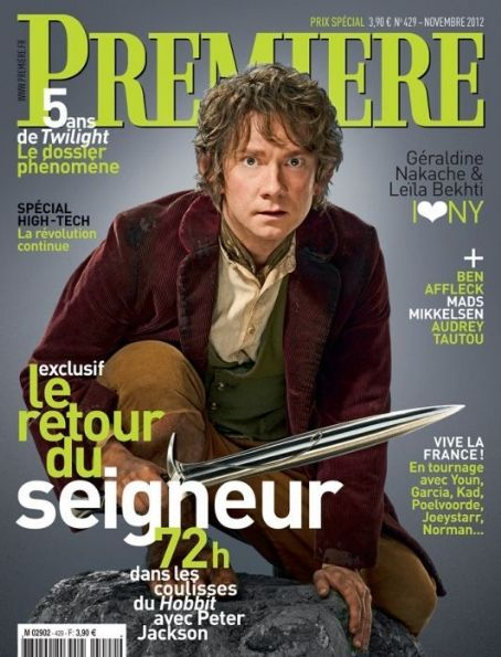 Martin Freeman - Premiere Magazine Cover [France] (November 2012)