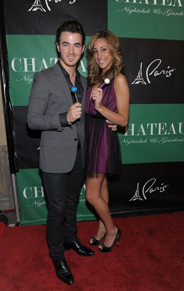 Danielle Jonas - Kevin Jonas celebrate his 24th birthday in Las Vegas