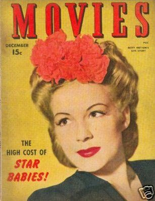 Betty Hutton - Movies Magazine [United States] (December 1943)