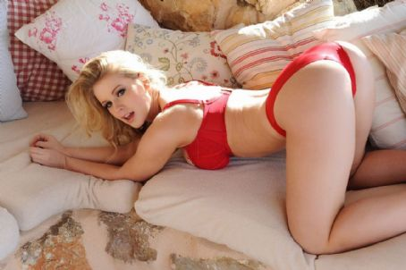 Jess Davies  Red Panties