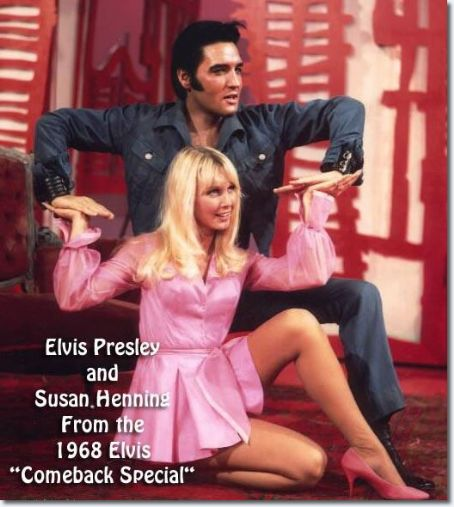 Elvis Presley and Susan Henning