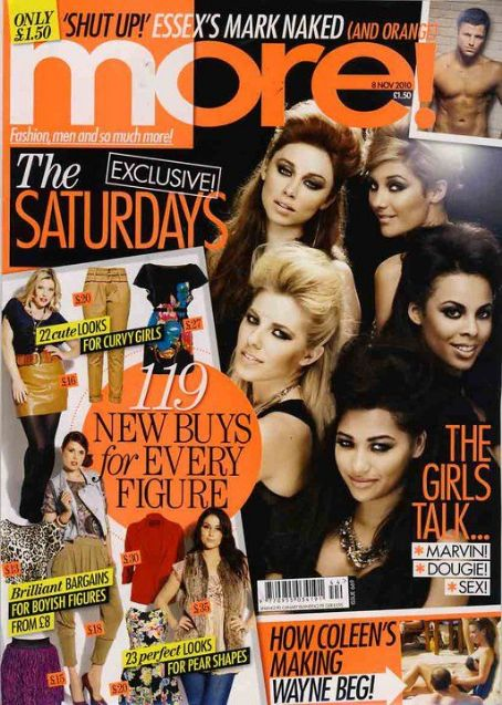 Vanessa White - The Saturdays Magazine scans and shoots
