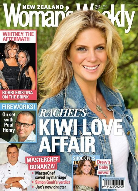 Rachel Hunter - Woman's Weekly Magazine Cover [New Zealand] (5 March 2012)