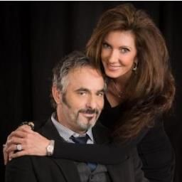 David Feherty  and Anita Feherty