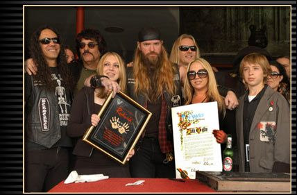 Zakk Wylde - Zakk and Barbaranne Wylde and family