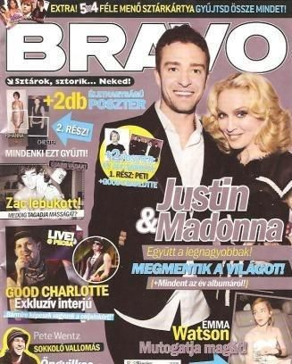 Madonna - Bravo Magazine [Hungary] (June 2008)