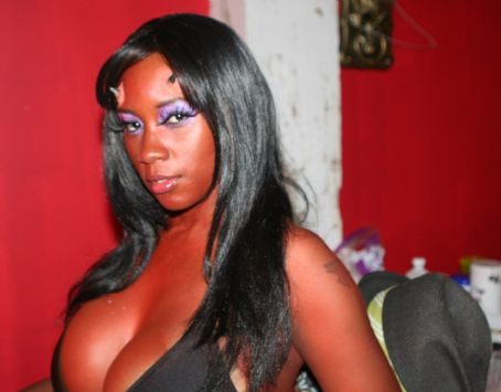 Monique Dupree The Original Gata,  on the set of Satan Hates You