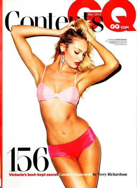 Terry Richardson Candice Swanepoel GQ UK May 2012