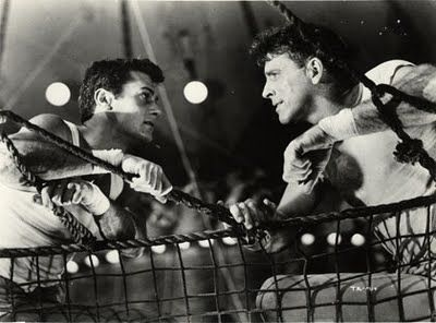Burt Lancaster - Trapeze Movie Stills