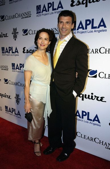 Frank Grillo Actors  and Wendy Moniz arrive at The Abbey/Esquire Magazine's 'The Envelope Please' Oscar Viewing Party on February 27, 2005 at The Abbey in West Hollywood, California