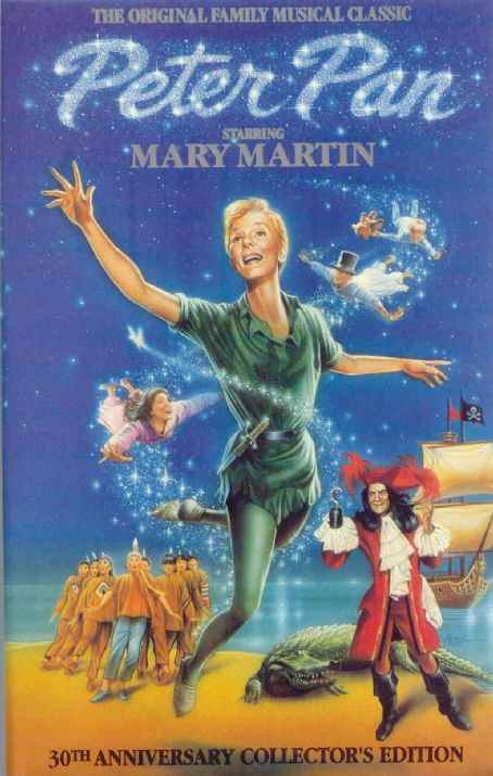 Peter Pan PETER PAN, STARRING MARY MARTIN 1954