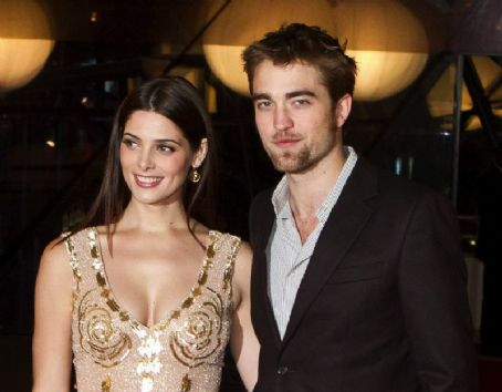 Robert Pattinson and Ashley Greene at Breaking Dawn Belgium Fan Event