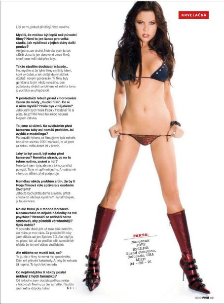 Christa Campbell FHM Czech May 2012
