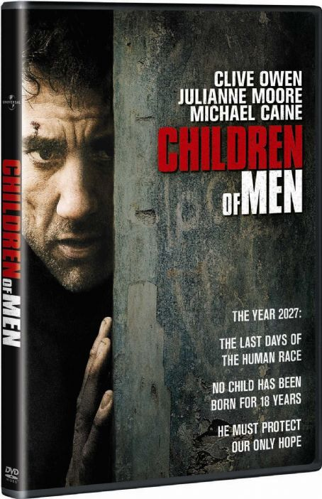 Clive Owen - Children of Men Dvd Box Art 3D