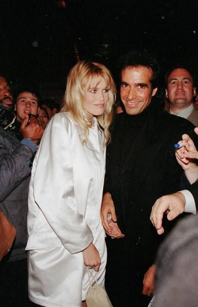David Copperfield Claudia Schiffer and