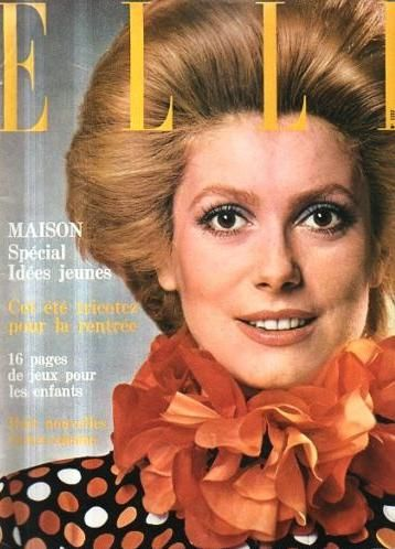 Catherine Deneuve - Elle Magazine [France] (July 1969)