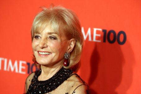 Barbara Walters American journalist  attends Time's 100 Most Influential People in the World Gala