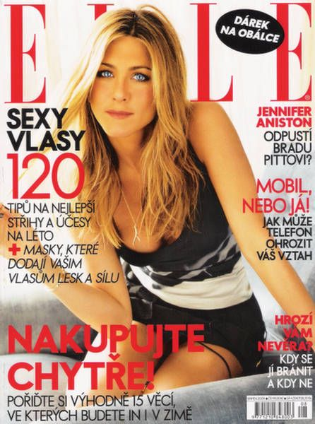 Jennifer Aniston - Elle Magazine [Czech Republic] (August 2009)