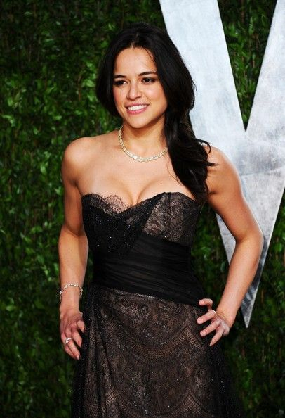 Michelle Rodriguez - 2012 Vanity Fair Oscar Party Hosted By Graydon Carter - Arrivals