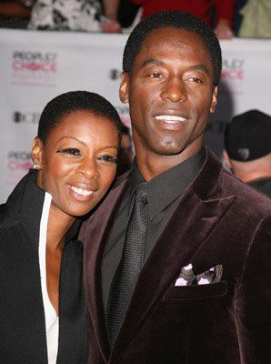 Isaiah Washington - More red carpet pics