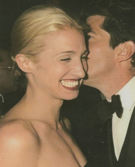 John Kennedy Jr. - John F. Kennedy, Jr. and Carolyn Bessette