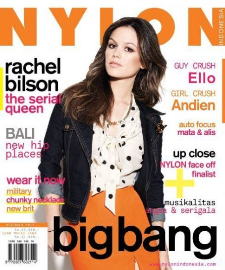 Rachel Bilson - Nylon Magazine Cover [Indonesia] (December 2011)