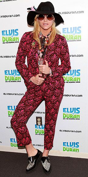 Ke$ha: appearance at N.Y.C.'s Z100 studios