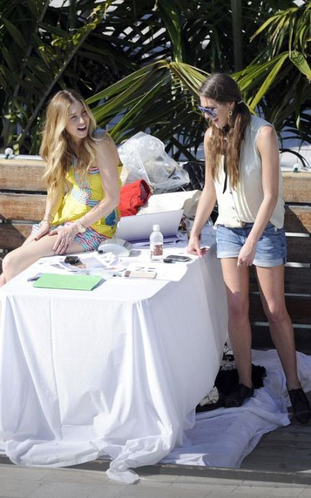 Roxy Olin Whitney Port and : Miami Poolside Pair