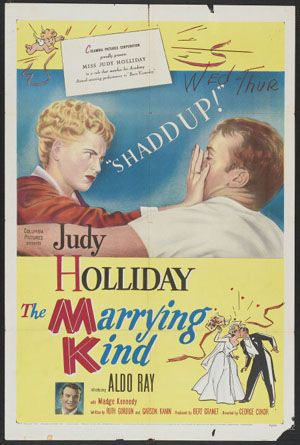 The Marrying Kind (1952) Poster