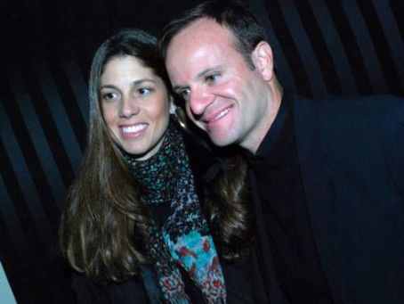 Rubens Barrichello and Silvana Barrichello