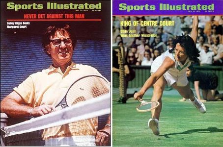 Billie Jean King Bobby Riggs & Bilie Jean King 1973