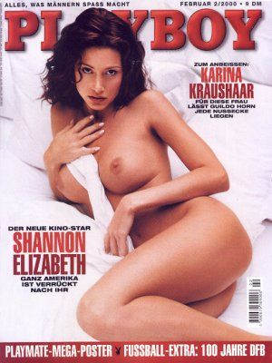 Shannon Elizabeth Playboy February 2000