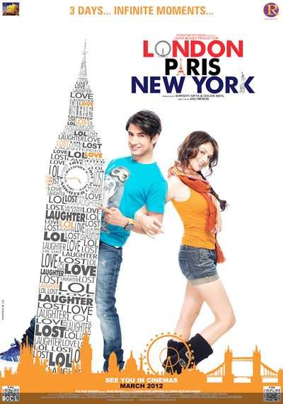 Aditi Rao Hydari New Movie London Paris New York Latest Posters 2012