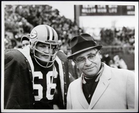 Ray Nitschke  With Coach Vince Lombardi