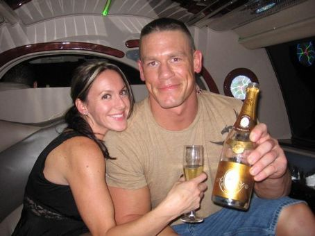 Liz John Cena and 's wedding