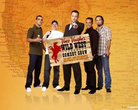 John Caparulo Vince Vaughn's Wild West Comedy Show Wallpaper.