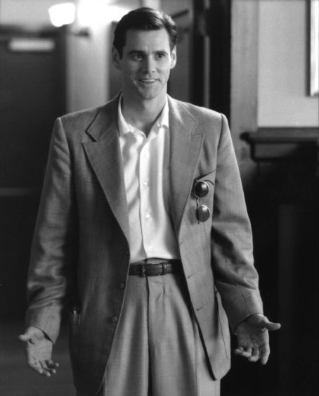 The Majestic Jim Carrey as Peter Appleton in Castle Rock's  - 2001