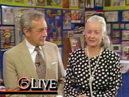 Adventures of Superman- Jack Larson & Noel Neill 1988