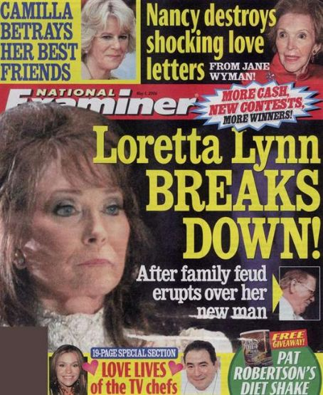 Loretta Lynn - National Examiner Magazine [United States] (1 May 2006)