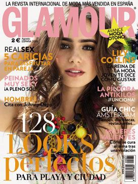 Lilly Collins - Glamour Magazine [Spain] (August 2009)