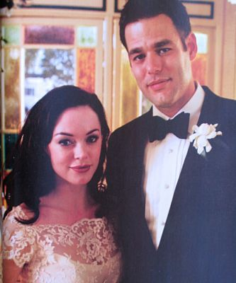 Ivan Sergei Rose McGowan and Ivan Gaudio
