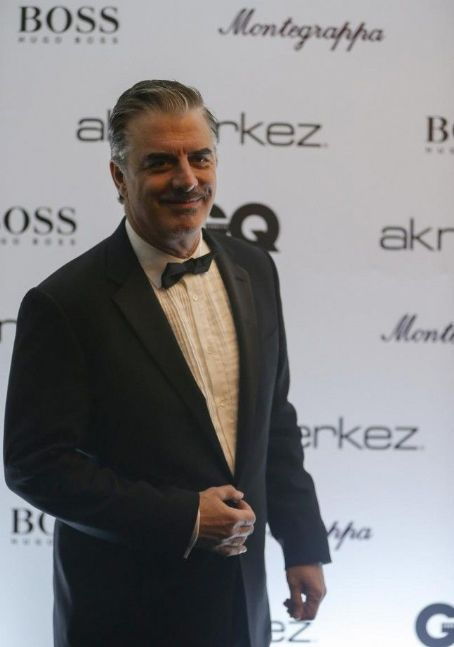 Chris Noth attend GQ Men of the Year Awards Istanbul