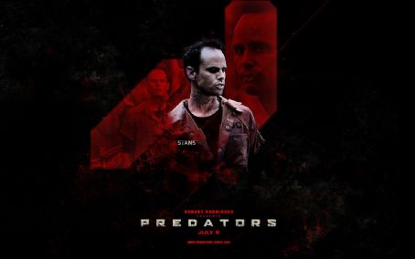 Walton Goggins Predators Wallpaper
