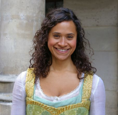 Angel Coulby i go ahead and smile.