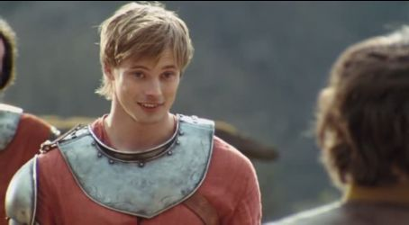 Bradley James but that was when i ruled the world.