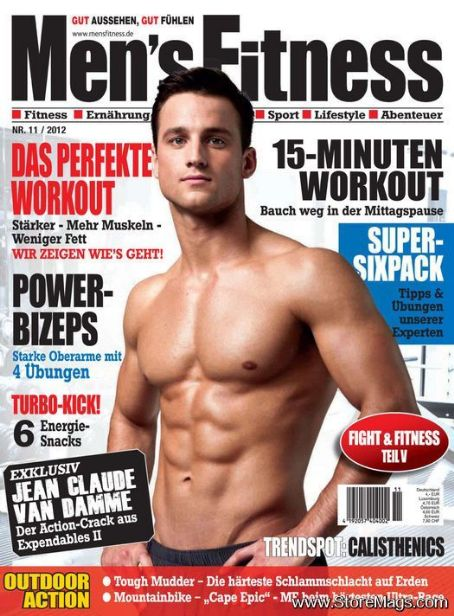 Men's Fitness Magazine Cover [Germany] (November 2012)