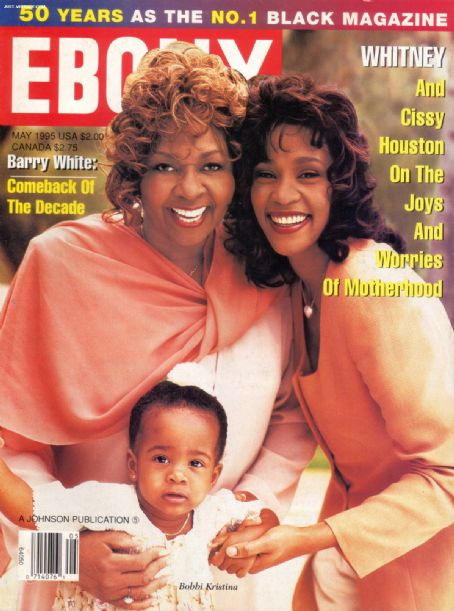 Whitney Houston - Ebony Magazine [United States] (May 1995)